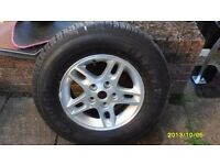 4X4 ALLOY AND NEW TYRES, 245/70/16