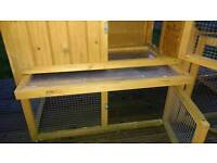 Rabbit/guinea pig outdoor pen/hutch