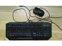 Cooler Master Devastator Keyboard and Mouse + Mouse pad
