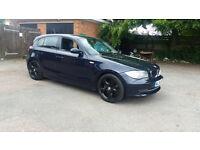 2008 BMW 130i LCI 3.0 6 SPEED, MET BLUE, LONG MOT
