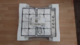 Zanussi Stainless Steel Gas Hob (ZGG62414SA) New in Original Packaging