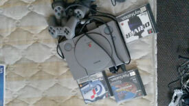 playsation original working as new retro collectors item with games