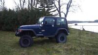 Jeep Tj 2002 modifié