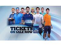 ATP World Tour Finals Tickets Monday Afternoon & Tuesday Evening