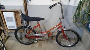 Vélo mustang rapido 1 vitesse roues 20po coaster brake