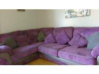 corner sofa and 2seater sofa for sale