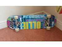 No Fear skateboard. Hardly used. £10 buyer collect