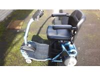 Liteway Mobility Scooter - Blue, 2 1/2yr old, good condition. Serviced this year, new battery