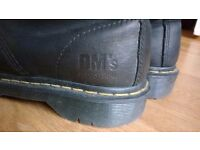 Dr (Doc) Martens industrial 7 eye work boots. Size 6 for women. As new