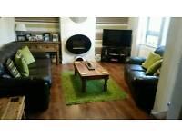 Gorgeous leather sofas