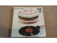 THE ROLLING STONES''LET IT BLEED'' ORIGINAL DECCA RECORD LABEL SKL5025