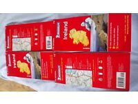 New 12 Maps Mitchelin of Europe Italy 564, Czech and Slovak Republic 731 , Ireland 712 x4 each