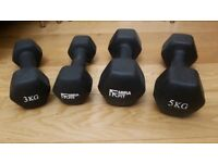Mira Fit weights