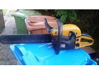 Chainsaw 58cc petrol chainsaw