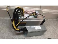 Antminer L3+ ASIC miner boxed with warranty.