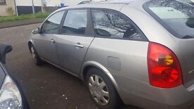 NISSAN PRIMERA ESTATE FOR SALE £250 ONO