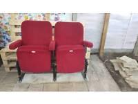 2 cinema chairs