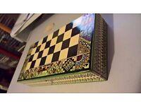 Inca Chess set, unused.