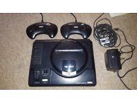 Sega Mega Drive MK1 console + 2 controllers - Retro .. Excellent condition