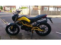 Kymco K Pipe 125. Complete motorbike package.1 Year Mot. Reliable Commuter. 2013 Plate