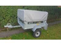 Daxara 107 Trailer + high frame and cover
