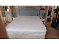 King size Divan Bed 3 Draws & Headboard