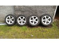 4 Mercedes Wheels and Tyres Swap Good Guitar and Amp or Sell