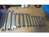 Set of 12 spanners
