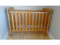 EAST COAST Katie dropside solid pine cot