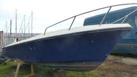 Fibreglass 17 Foot Boat