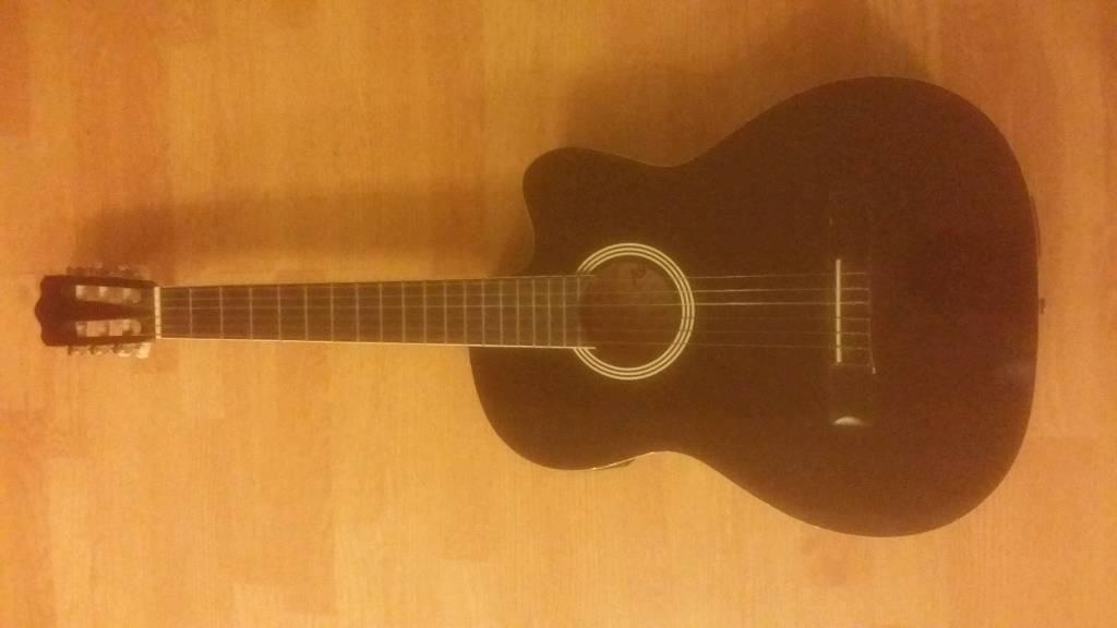 Ashton Cg44ceq Bk Black Gloss Acoustic Guitar In Birmingham West
