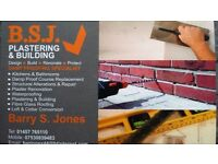 B S J PLASTERING AND BUILDING
