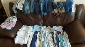 Massive bundle of boys 6 TO 9 MONTHS clothes