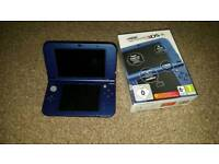 New Nintendo 3ds Xl in blue. Plus 4 games and 64gb memory card