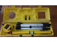 Laser Spirit Level with Tripod and Case. Excellent Condition, SR4 area, £20. Other tools available.