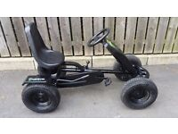 Monster Energy Berg Go Kart... Tyres in good condition with black rims