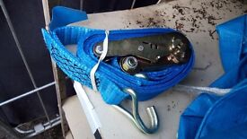 50x heavy duty ratchet straps 50mm 4m brand new