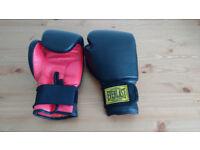 Everlast 14.oz Boxing Gloves Black/Red