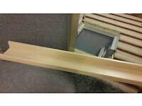 IKEA RIBBA MAPLE SHELVES X 4
