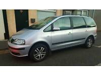 2006 SEAT ALHAMBRA TDI REFERENCE, FULL MOT TODAY, GREAT DRIVING CAR, 7 SEATER