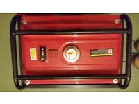 Generator max power 2500w