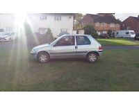 PEUGEOT 106 WITH MOT CHEAPY