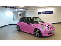 2002 MINI COOPER S 1.6 SUPERCHARGED ENGINE **PINK** *PART EX WELCOME*24 HOUR INSURANCE*WARRANTY*