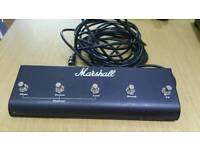 Marshall Original Marshall Footswitch, Five Button With LED (Clean, Crunch, Lead, Reverb, FX)