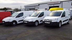 Choice of Berlingo Connect Partner Transit Sprinter Vivaro 4x4 and so much more