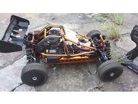 rc / HoBao Hyper Cage RTR Buggy w/MachStar 28 - Orange