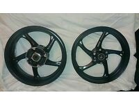 CBR600F WHEELS / RIMS PAIR 2011 - 2014