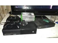 Xbox one 1tb +6 games 2 controllers. Swap for ps4 (pref slim) or £250