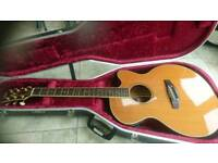 Yamaha compass series cpx 8m electric acoustic guitar