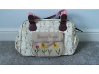Silver lining blooming gorgeous changing bag